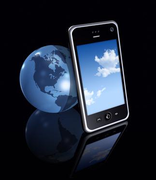 Smartphone et Terre