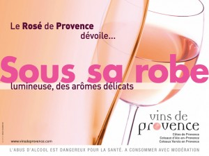 Nouvelle campagne de communication des Vins rosés de Provence