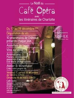 Le Noël du Café Opéra