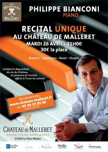 Concert Chateau Malleret