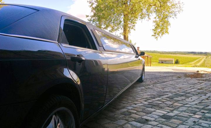 Limousine au Château Loudenne